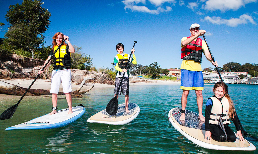 Kayaks, Canoes, SUP Board Tours