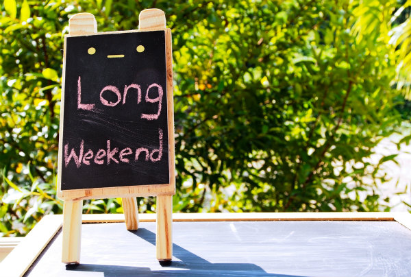 2019 june long weekend